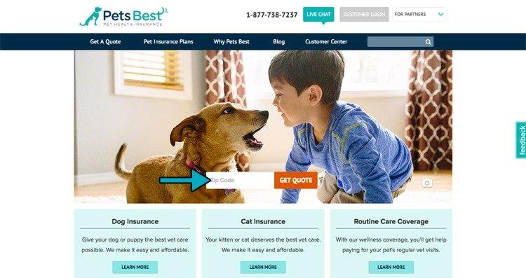 PetsBestHomePage