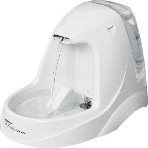 drinkwell platinum cat water fountain