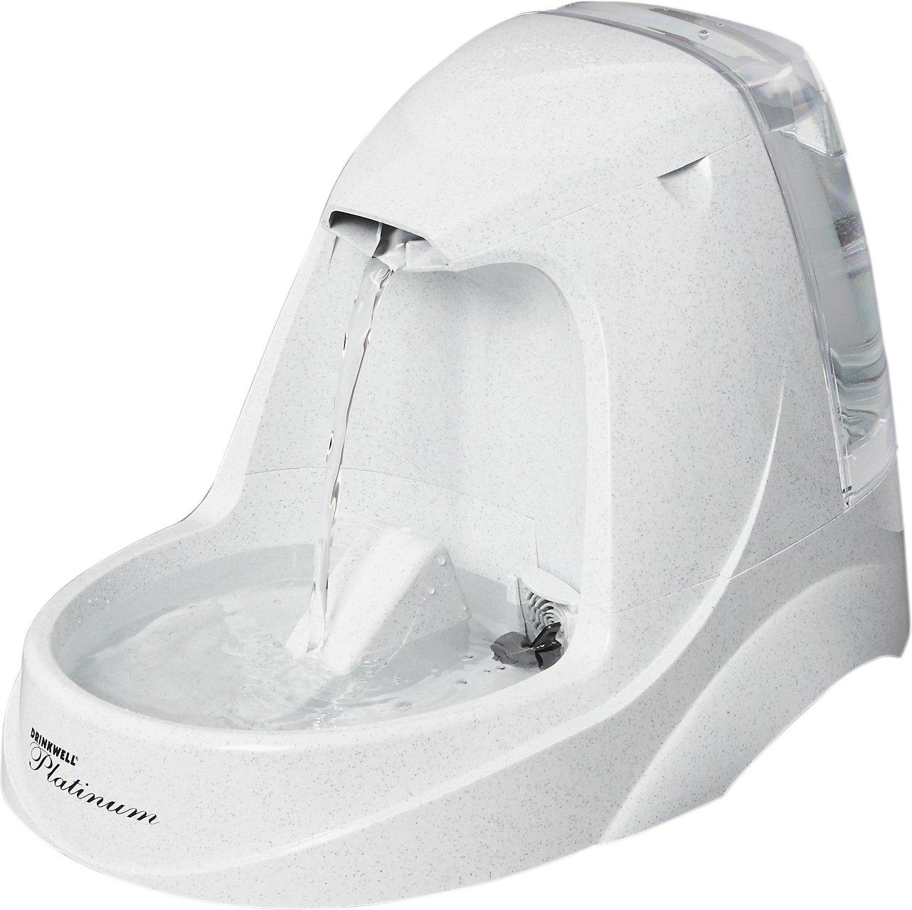 drinkwell platinum cat water fountain