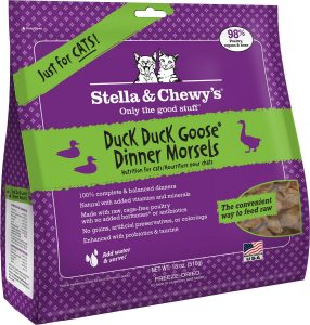 stella and chewys duck duck goose cat food