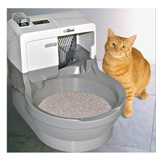 What if your cat had a flushable toilet instead of a litter tray just like us humans? Wouldnu0027t that be cool? Well the people who designed CatGenie ...  sc 1 st  Catological & Our Top 5 Automatic And Self-Cleaning Cat Litter Boxes Aboutintivar.Com