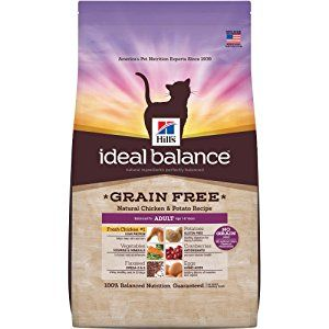 Hills Ideal Balance Grain Free Dry Cat Food