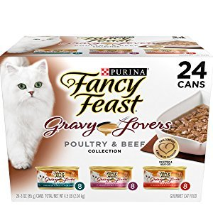 Purina Fancy Feast Gravy Lovers Gourmet Wet Cat Food