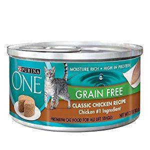 Purina ONE Grain Free Premium Pate Wet Cat Food