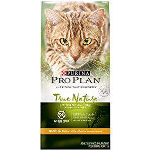 Purina ProPlan True Nature, Natural Grain Free Formulas Dry Cat Food
