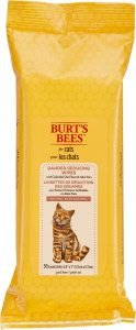 burts bees cat wipes
