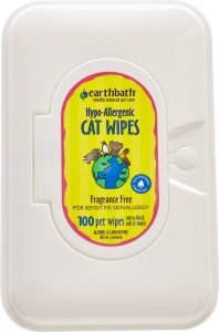 earthbath cat wipes
