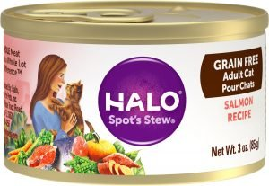 halo salmon adult canned cat food