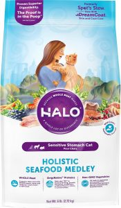 halo seafood medley dry cat food
