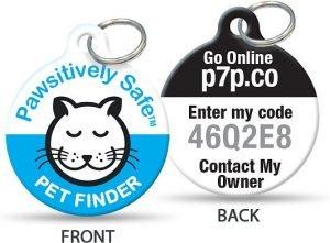 Platinum Pets Pawsitively Safe Pet Finder Tag