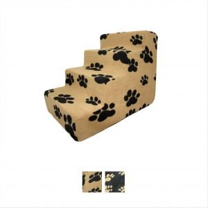 best pet supplies paw print stairs