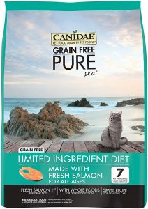 canidae limited ingredient cat food