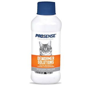 cat dewormer prosense