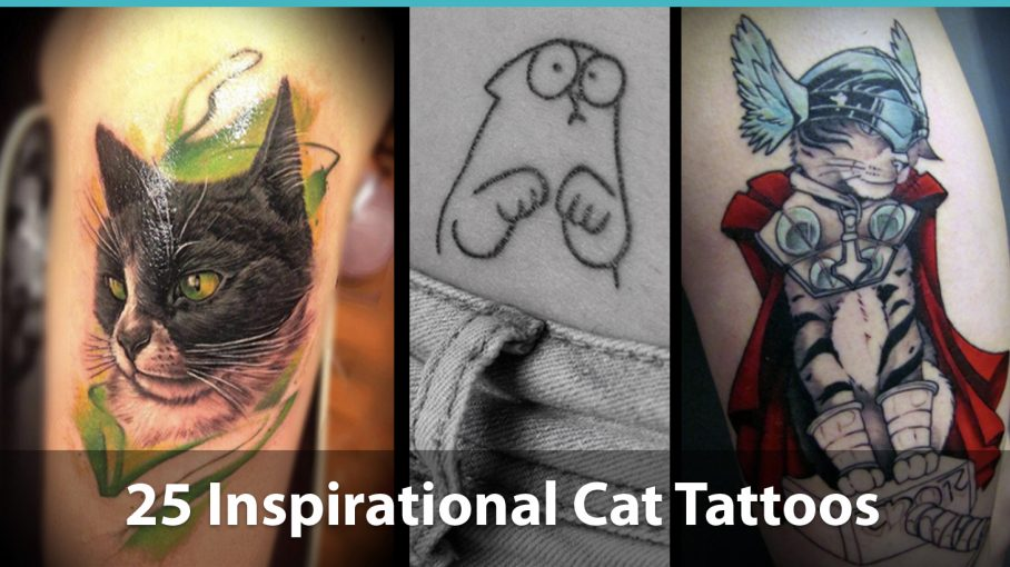 ab33273ca 25 Inspiring Kitty Tattoo Designs For Cat Lovers