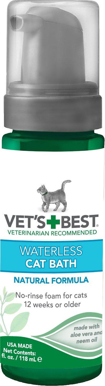 vets best waterless shampoo