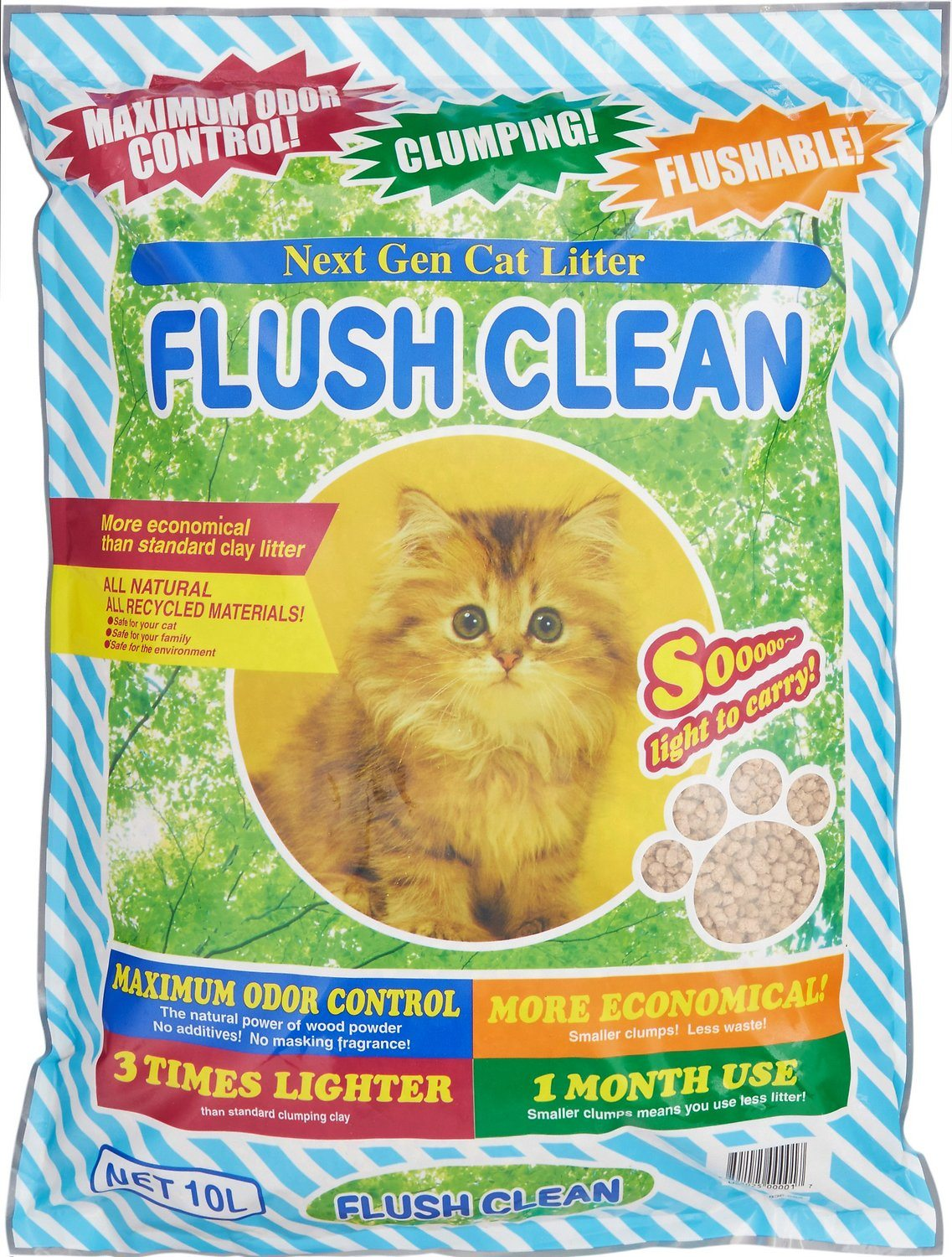 Next Gen Pet Flushable litter