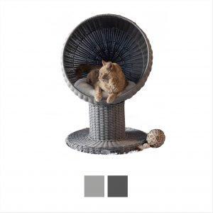 Refined Feline Kitty ball Cat bed