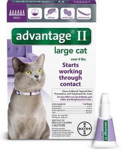 advantage ii large cat flea control