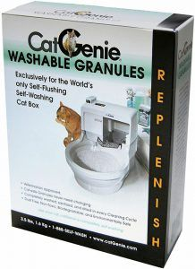 catgenie washable litter