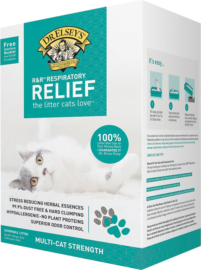 dr elsey respiratory relief litter