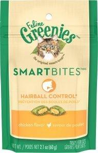 feline greenies smart bites