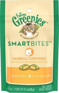 feline greenies smart bites