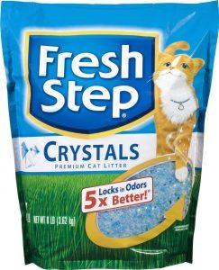 fresh step crystals litter