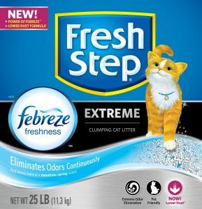 fresh step extreme odor control litter