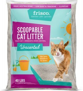 frisco scoopable litter