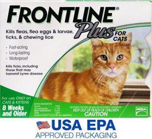 frontline plus for cats flea treatment