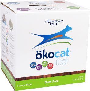 okocat dust free litter