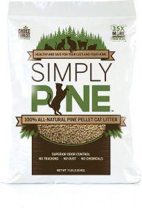 simply pine litter