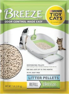 tidy cats breeze pellet litter