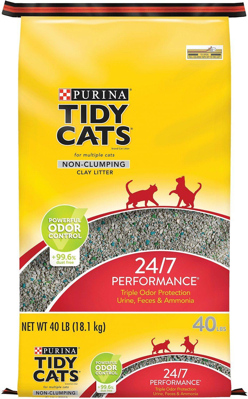 tidy cats odor control litter