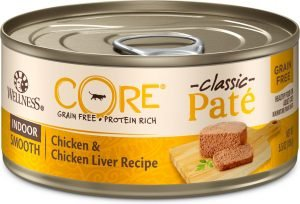 wellness core grain free wet cat food