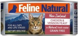 feline natural grain free