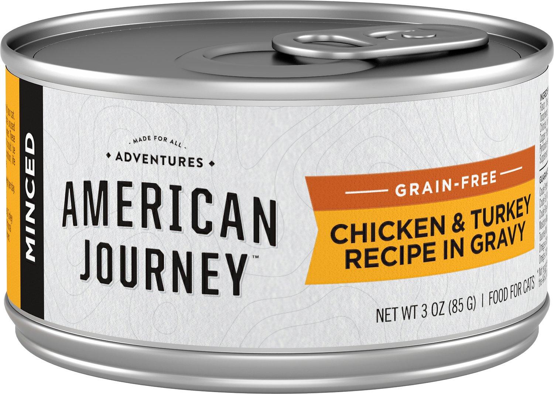 american journey wet cat food