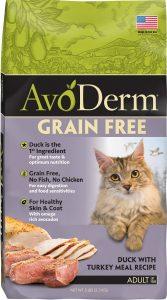 avoderm grain free dry cat food