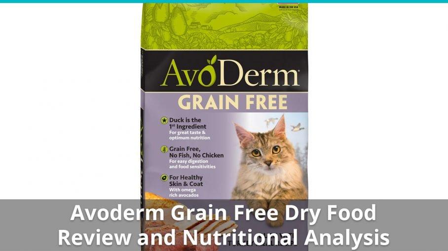 avoderm grain free dry