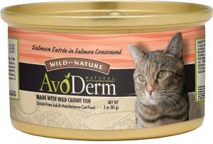 avoderm natural wild by nature wet cat food can