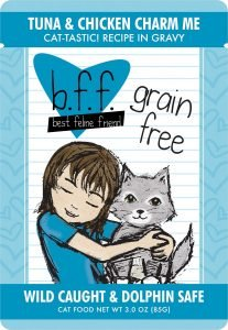 bff grain free pouch cat food