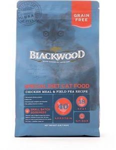 blackwood grain free dry cat food bag