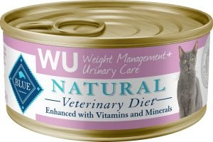 blue buffalo natural veterinary diet wet canned cat food