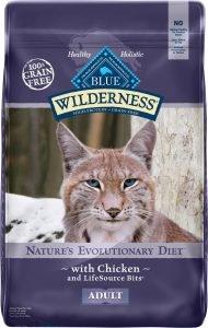 blue buffalo wilderness dry cat food bag