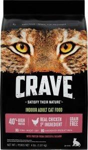 crave dry cat food bag