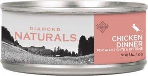 diamond naturals wet cat food can