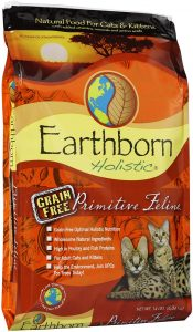 earthborn holistic dry cat food bag