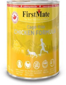 firstmate grain free wet cat food can