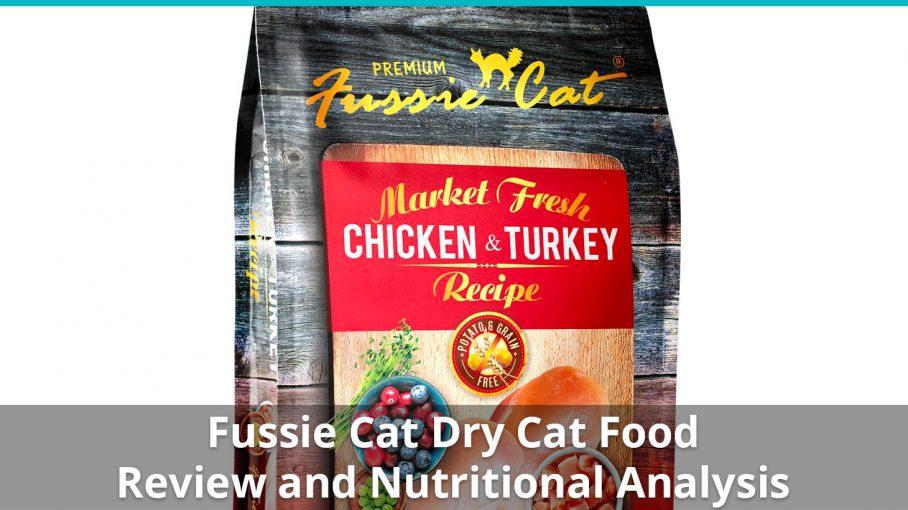 fussie cat dry