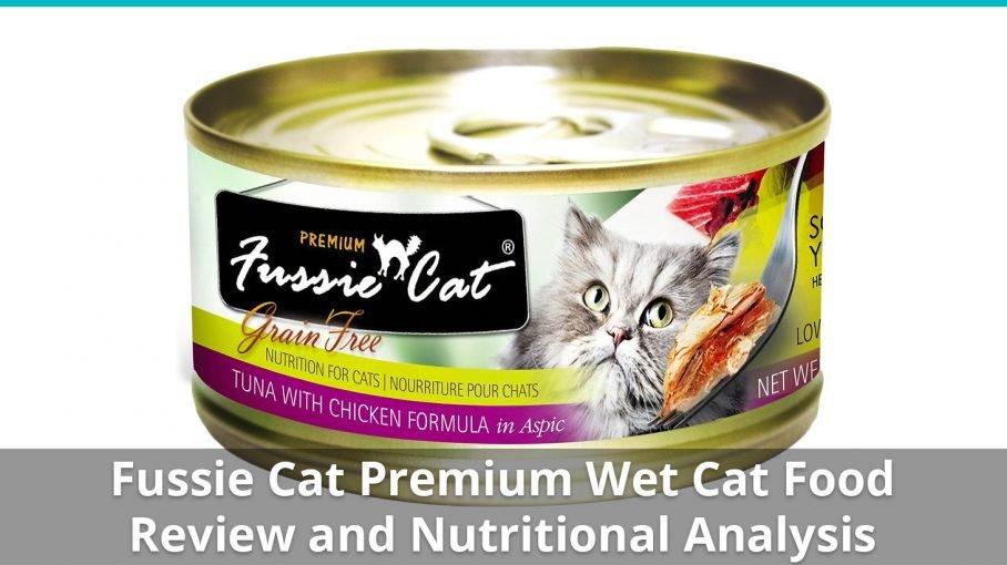 fussie cat premium wet